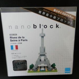 Nanoblock - Eiffel Tower Rives De La Seine a Paris